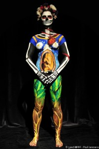 1st Body Painting 2014