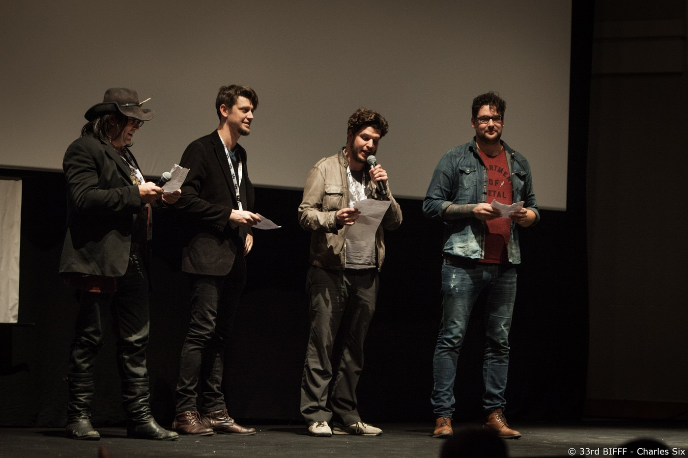 Richard Stanley, Andy Muschietti, Jonas Govaerts, Timo Vuorensola - International Jury 2015