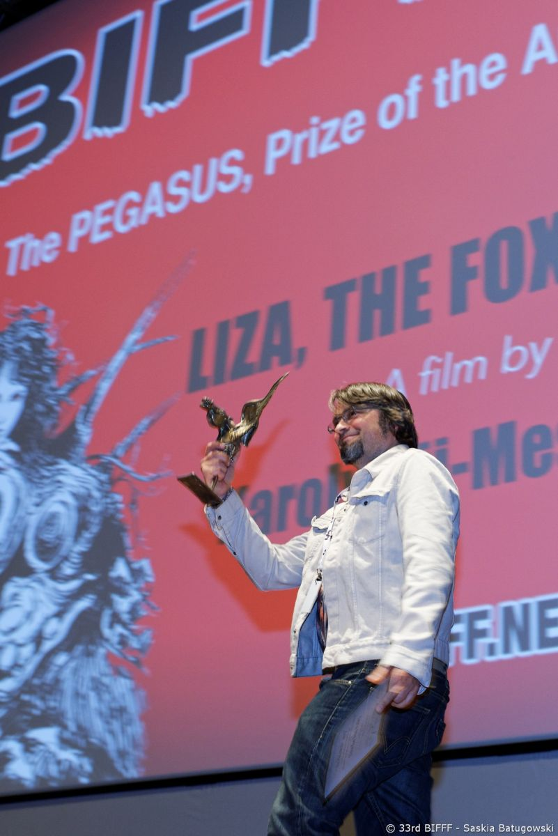 Karoly Ujj Meszaros Director - Liza, The Fox-Fairy - Pegasus Award & 7th Orbit Award 2015