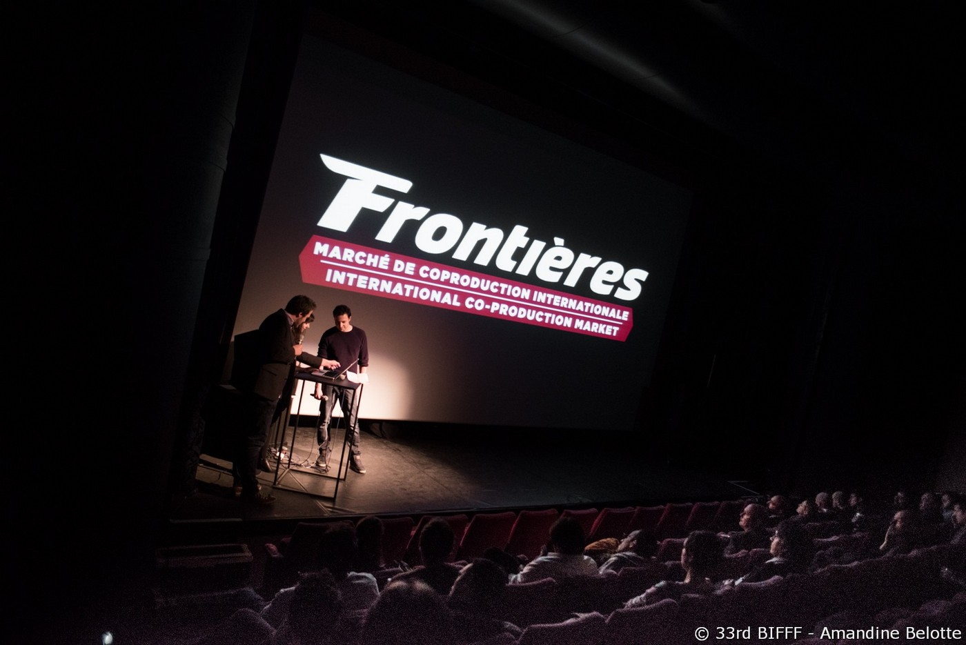 Frontières Pitch Session