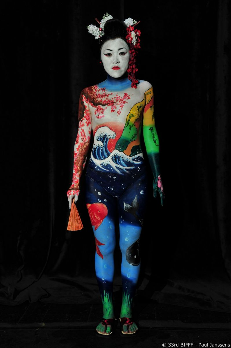 28th Body Painting Contest 3rd Prize