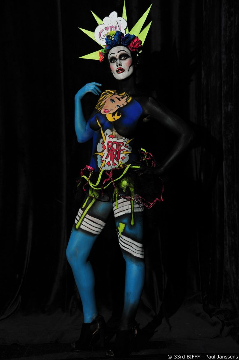 28th Body Painting Contest 2nd Prize