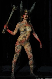 28th Body Painting Contest 1st Prize
