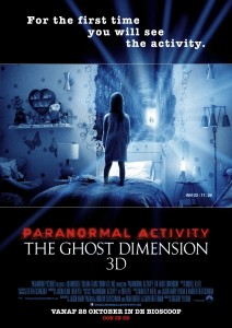 Paranormal Activity Ghost Dimension Poster