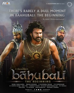 Baahubali the Beginning Poster