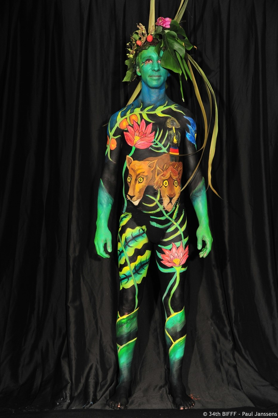 2nd Prize 29th Bodypainting