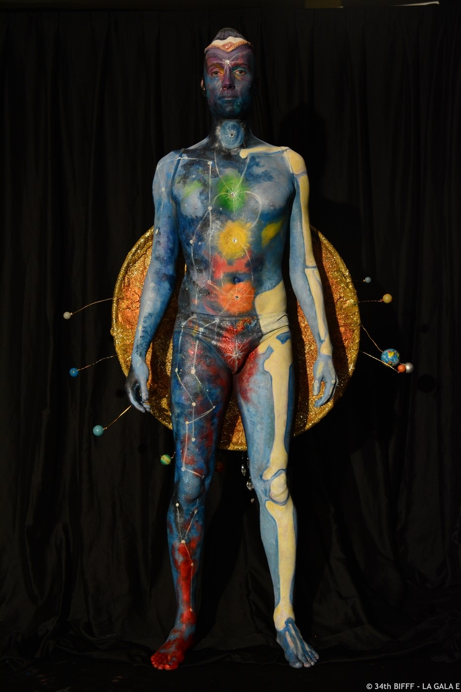 3rd Prize 29th Bodypainting
