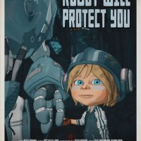 ROBOT WILL PROTECT YOU - European Shorts films competition - 2019 - poster
