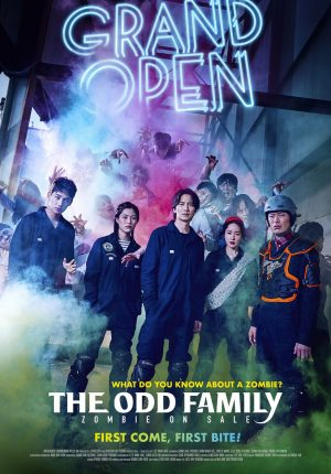 ODD FAMILY ZOMBIE ON SALE (THE)_Poster